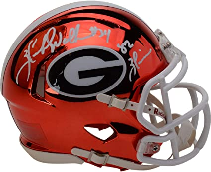 a4e69f4cc Image Unavailable. Image not available for. Color: Herschel Walker Georgia  Bulldogs Autographed ...