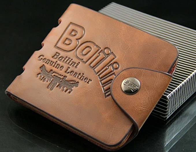 Jacentown® monedero hombres cartera patrón de agujeros diseño bolso tarjetas de cuero portamonedas bolso al mano: Amazon.es: Ropa y accesorios