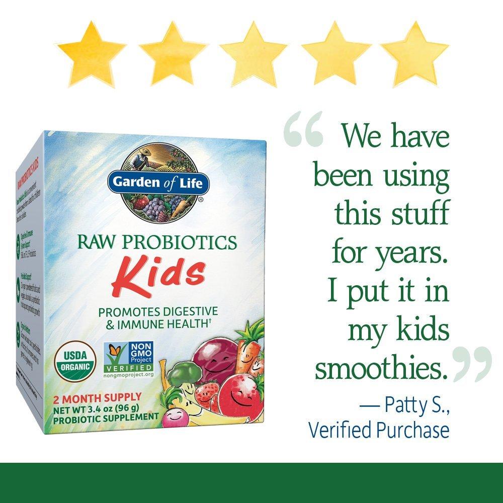 garden of life probiotics kids. Amazon.com: Garden Of Life - RAW Probiotics Kids Acidophilus And Bifidobacteria Organic Probiotic Supports Digestive Health Immune System Gluten I
