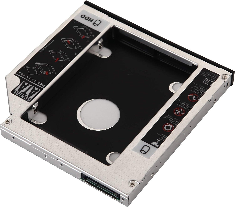 DY-tech 2nd SATA HDD SSD Hard Drive Caddy for HP Pavilion DV6 DV7 dv6-6c01em dv7-6152er dv6-2177la dv6-1220ec