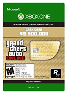 Grand Theft Auto V: Whale Shark Cash Card - Xbox One [Digital Code]