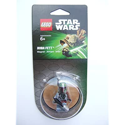 LEGO Star Wars Boba Fett Magnet: Toys & Games
