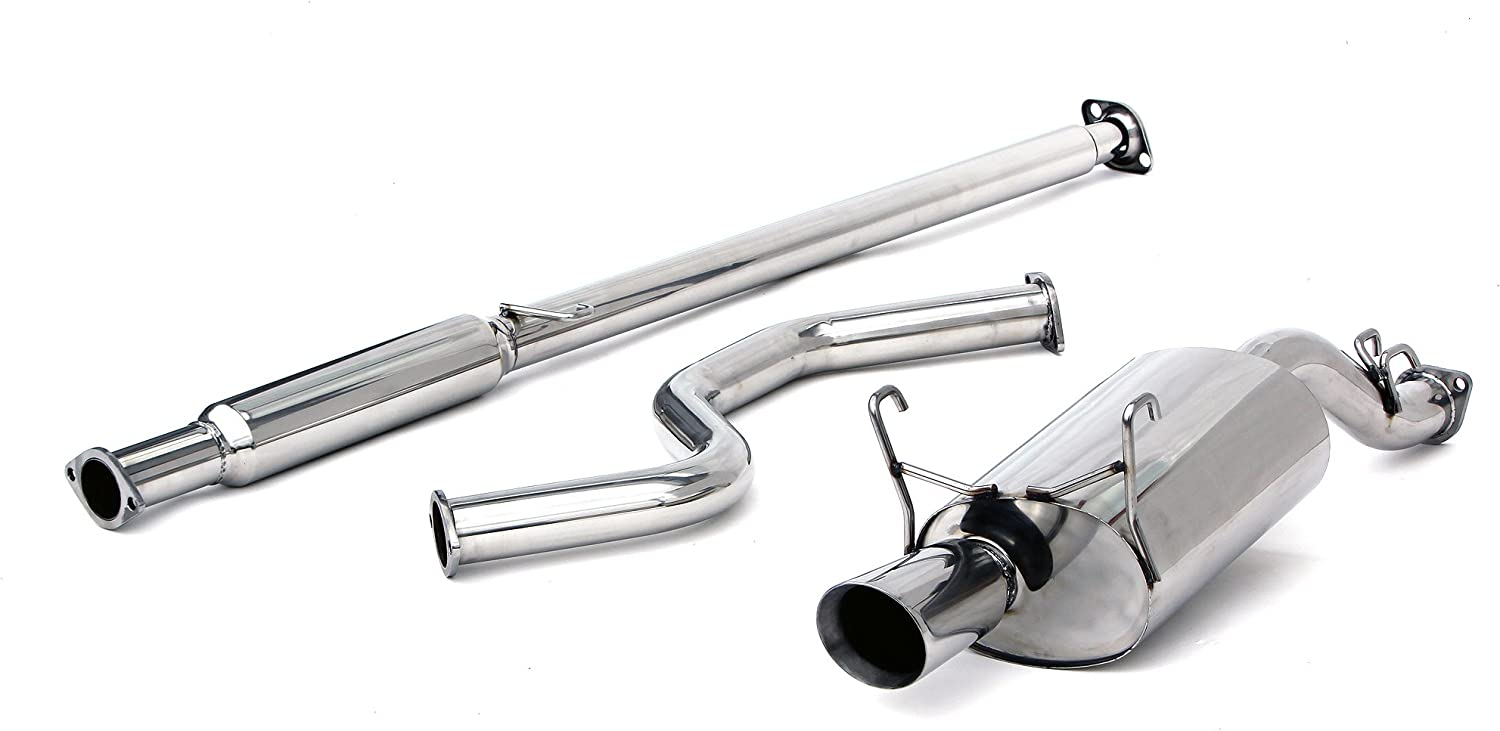 Yonaka Honda Civic 96-00 3DR Hatch Performance Catback Exhaust CX//DX Only