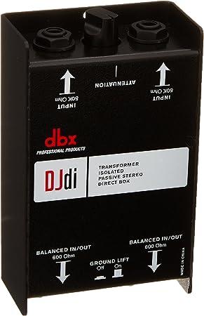 Di caja de inyección Dbx DJDI: Amazon.es: Electrónica