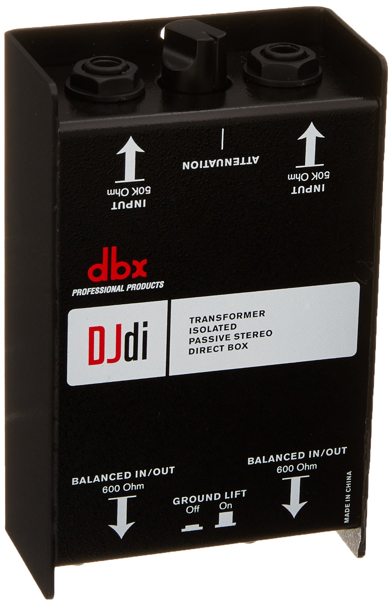dbx DJdi Passive 2-Channel Direct Box with Line Mixer by DBX