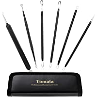 Blackhead Remover Pimple Popper Tool Kit - (6 Piece Kit) - Professional Stainless Pimples Comedone Extractor Removal…
