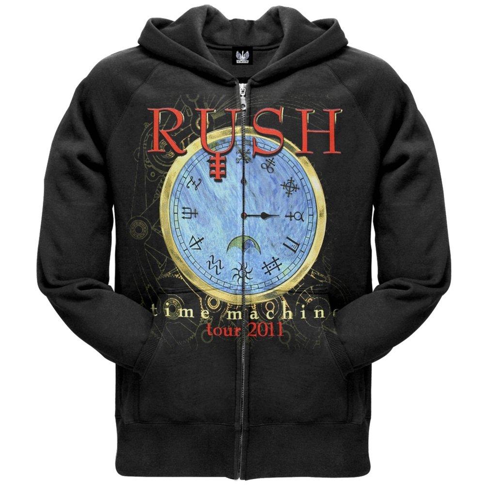 Rush Time Machine 2011 Tour Zip Hoody Sweatshirt