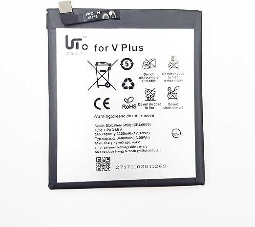 Todobarato24h Bateria Compatible con BQ Aquaris V Plus/VS Plus 3400 Mha V Plus: Amazon.es: Electrónica