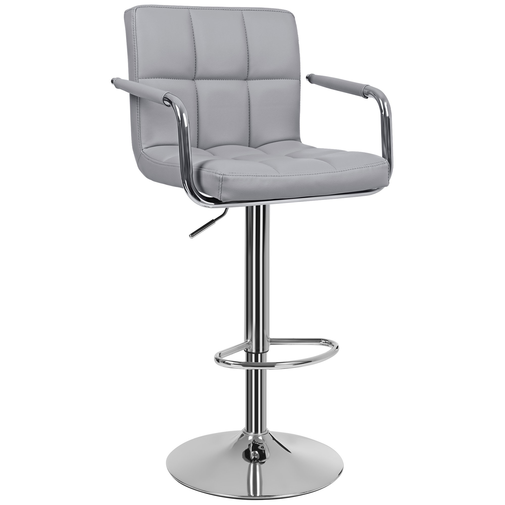 Grey Bar Stool: Amazon.co.uk
