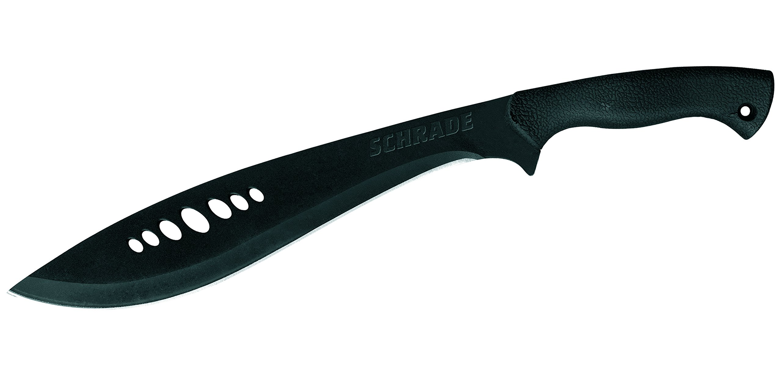 Schrade SCHKM1 19.7in Kukri Machete with 13.3in Stainless Steel Blade and Safe-T-Grip Handle for Outdoor Survival, Camping and Bushcraft by Schrade (Image #2)