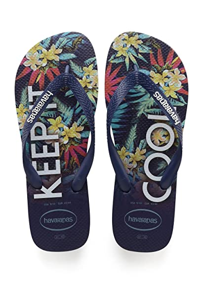 Tongs Top Tropical Bleu HavaianasHavaianas RY89aaRV
