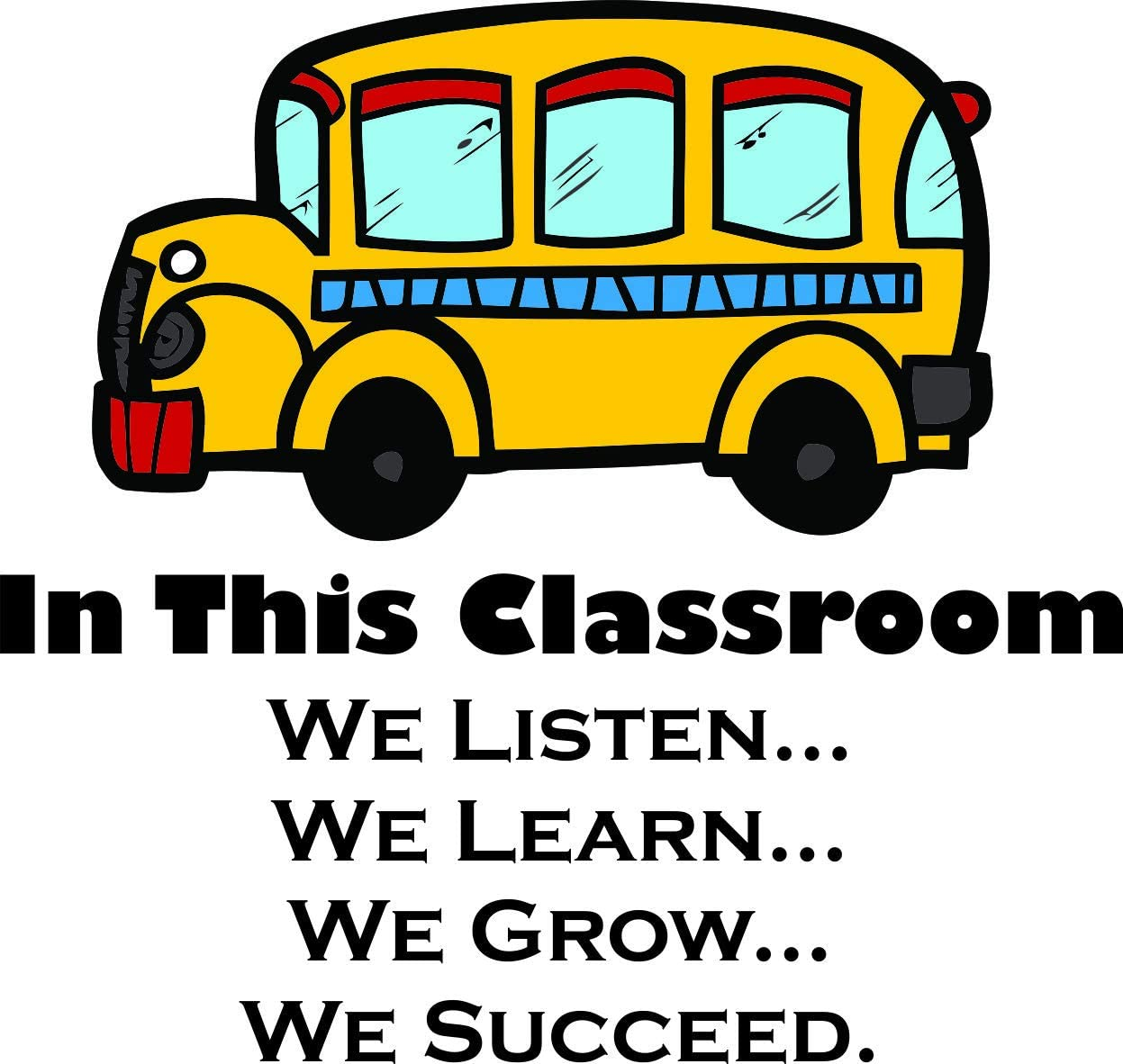 com in this classroom quote quotes school bus design