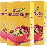 V.D.Food 维地 水果燕麦谷物片(即食谷物)15% 水果果干含量进口冲饮谷物 500g*3(德国进口)
