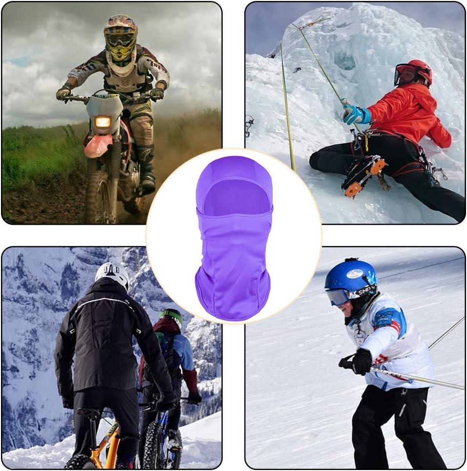para Hombres y Mujeres iufvbgxdh Pasamonta/ñas Multiusos Resistente al Viento para Deportes al Aire Libre m/áscara t/érmica de Forro Polar para Esquiar Ciclismo Calentador Cuello