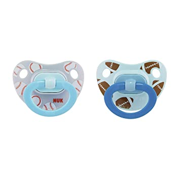 Nuk 18-36 months latex pacifiers red