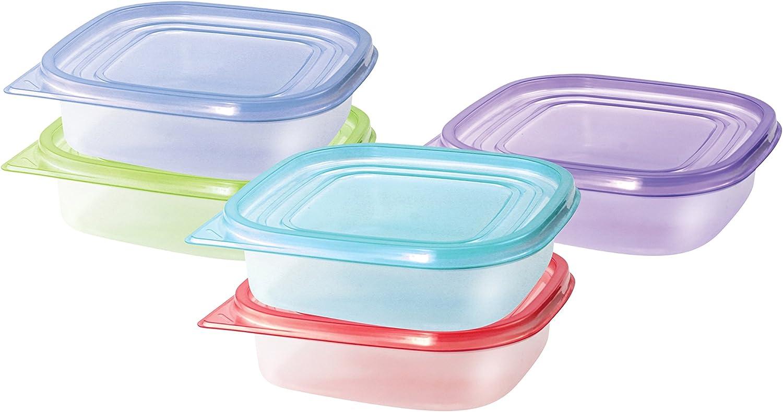 Cucina Vita 10 Piece Sandwich Food Storage Container Set - Sandwich To Go