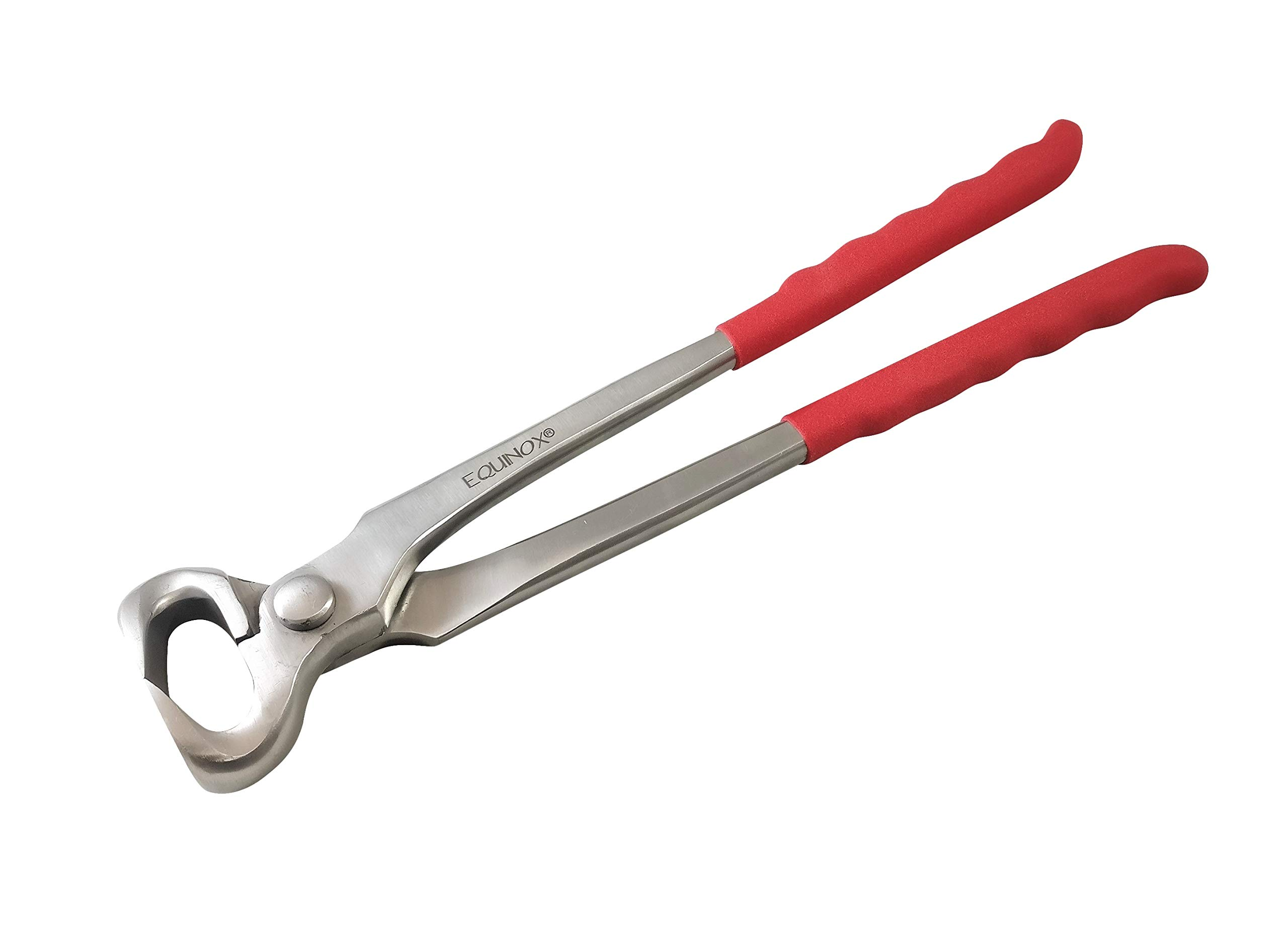 SiS EQUINOX Farrier Hoof Nipper Trimmer Foal Pony Horse 12'' Tool Farrier Tip Inserted Jaws