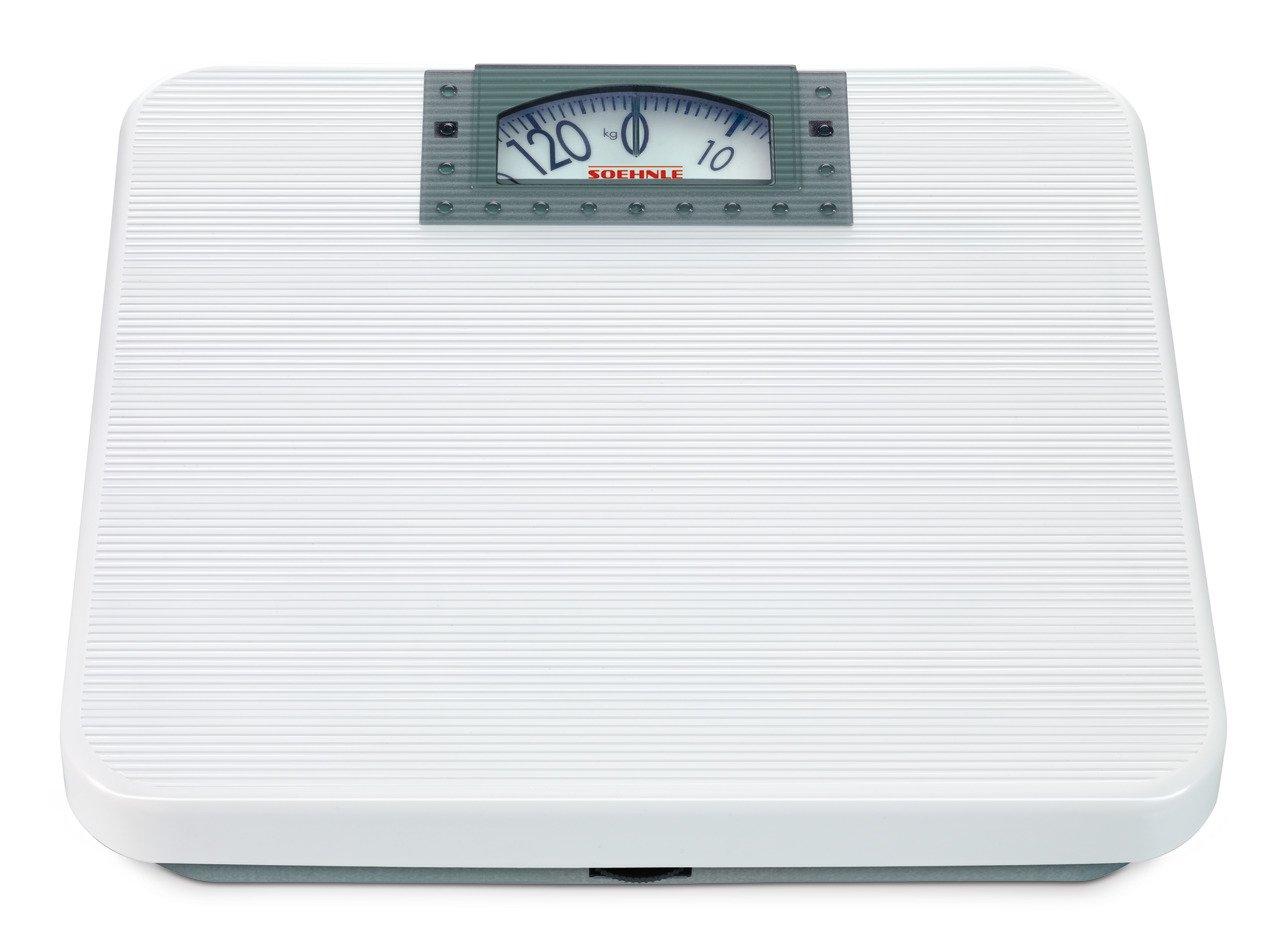 Soehnle 61141 Maya - Báscula mecánica, color blanco: Amazon.es: Salud y cuidado personal