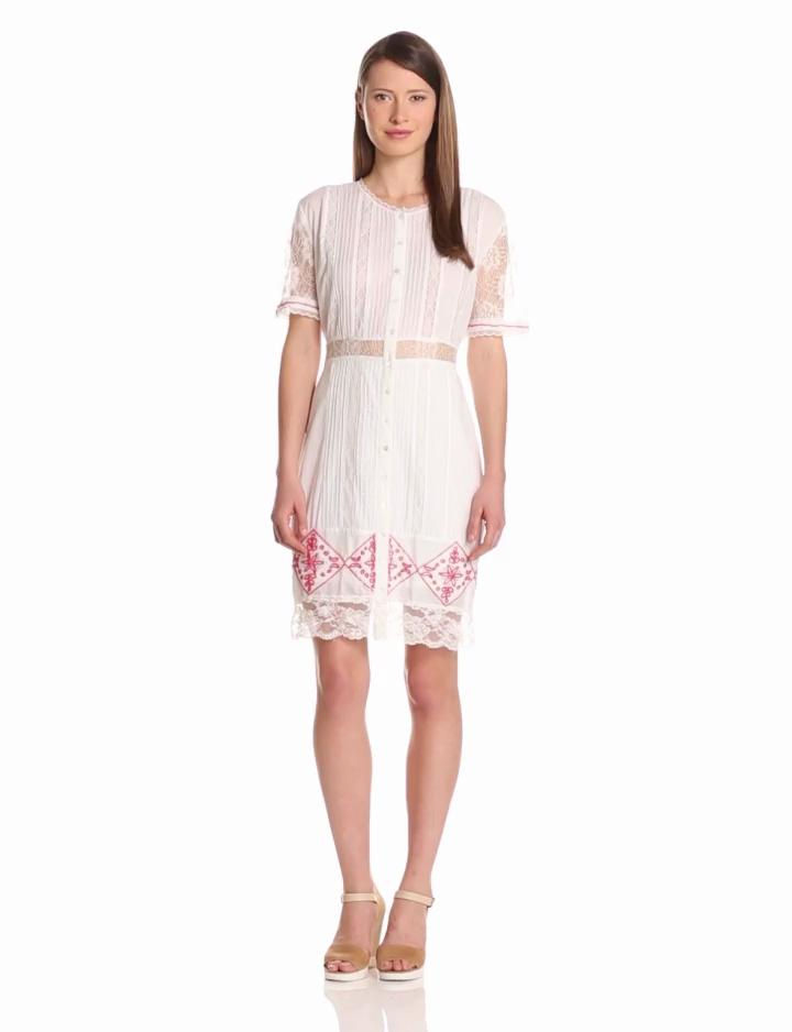 Candela Womens Alexis Lace Dress