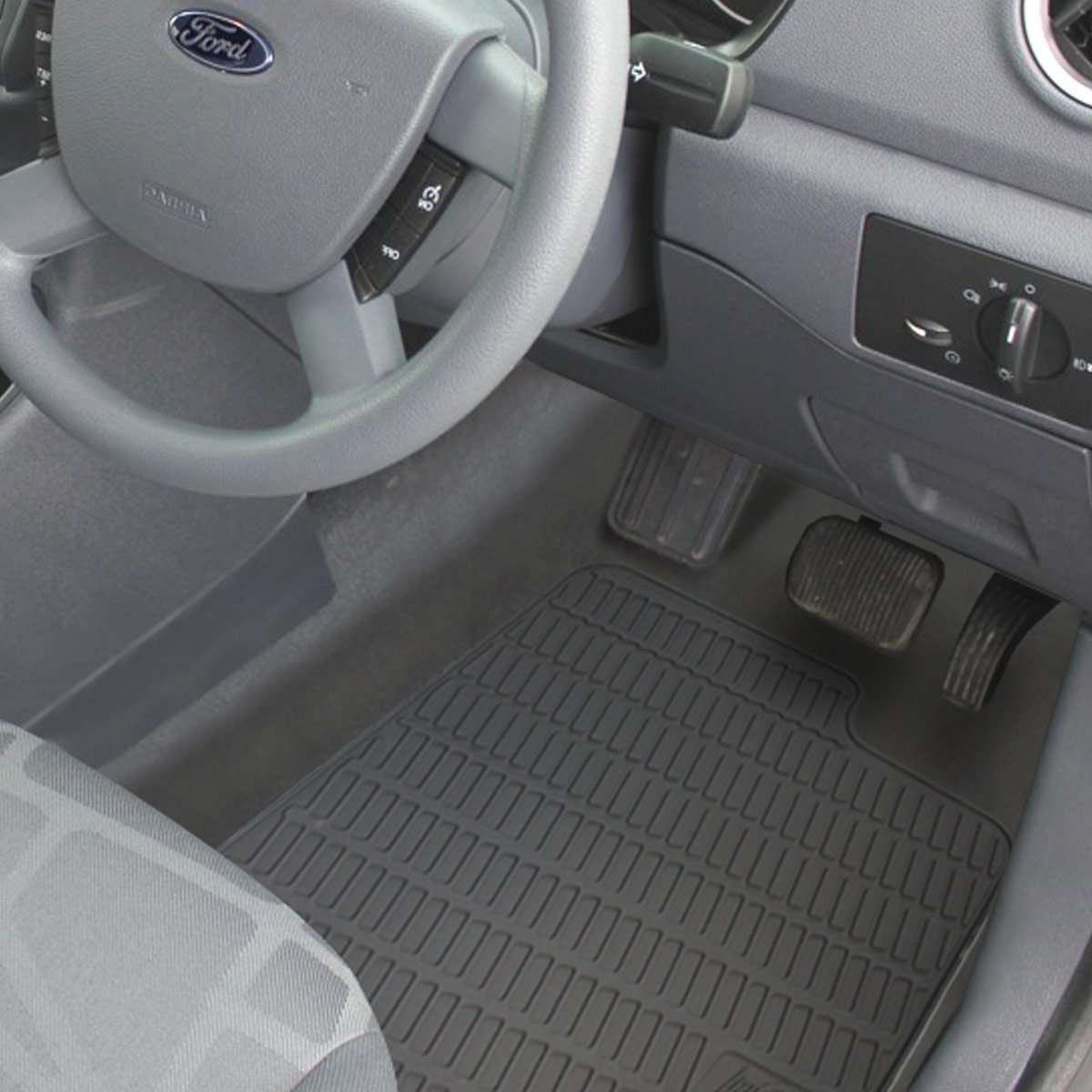 Pledgy Tailored Rubber Van Mats Amazoncouk Car Motorbike - Rubber connecting floor mats