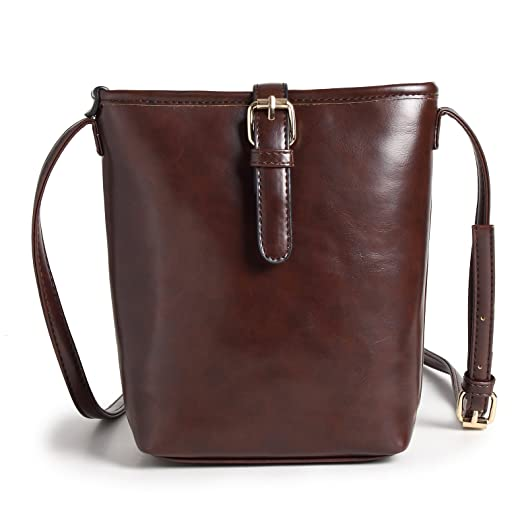 393972fca78e Forestfish Soft PU Leather Small Shoulder Bag Phone Purse Wallet Crossbody  Bag for Women Girls Gift