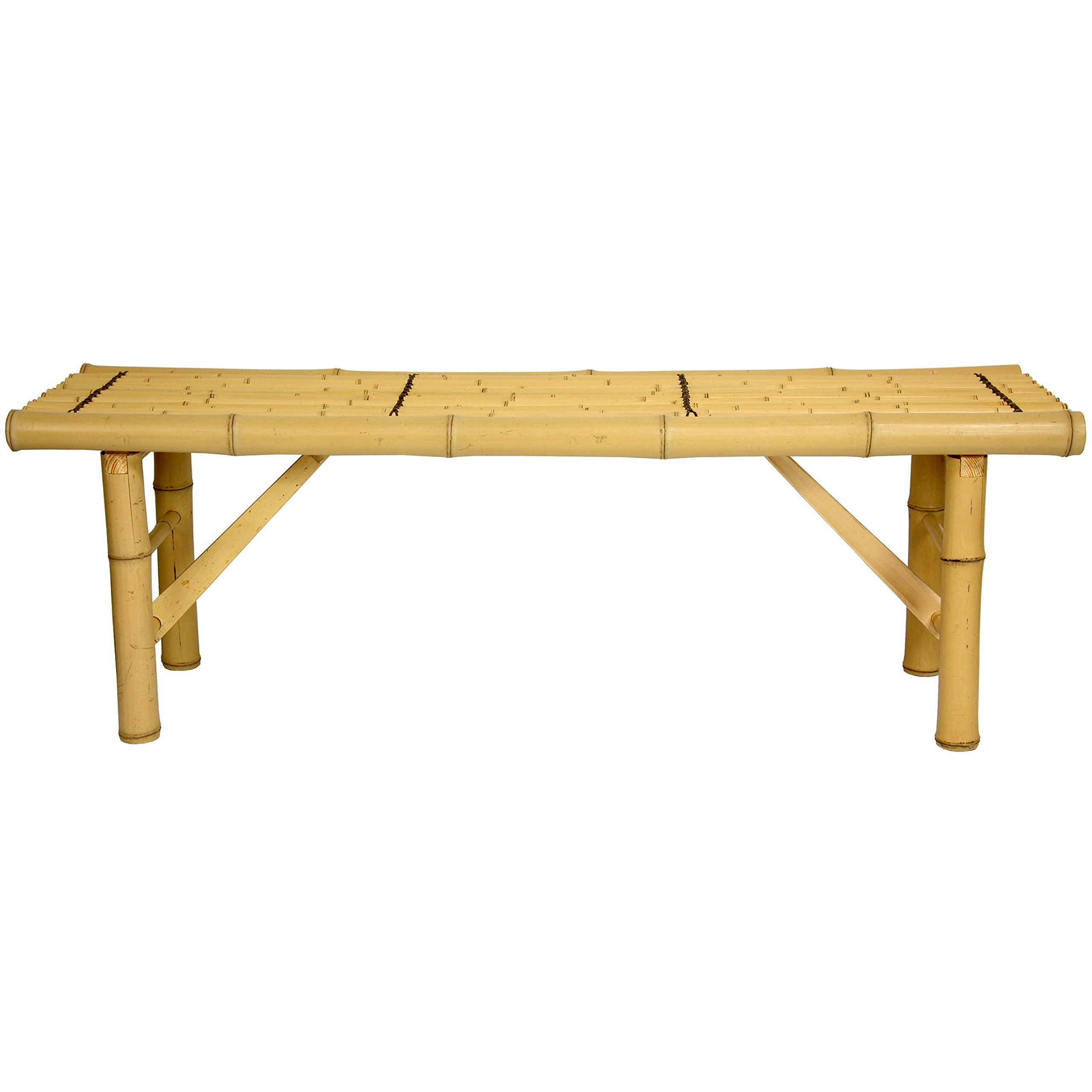 Oriental Furniture All Natural Tropical Style Coffee Table