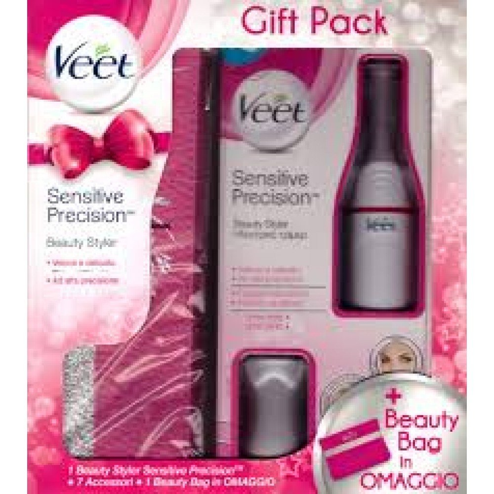 Come si usa Veet Sensitive Precision Beauty Styler