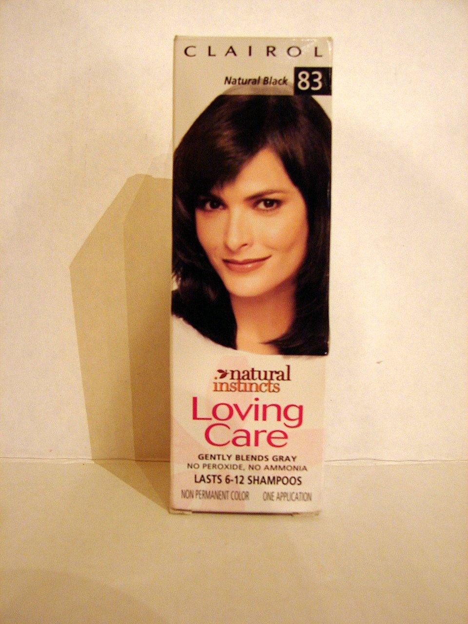 Clairol Loving Care Hair Color Creme Lotion 83 Natural Black 3 Oz 1 Ea