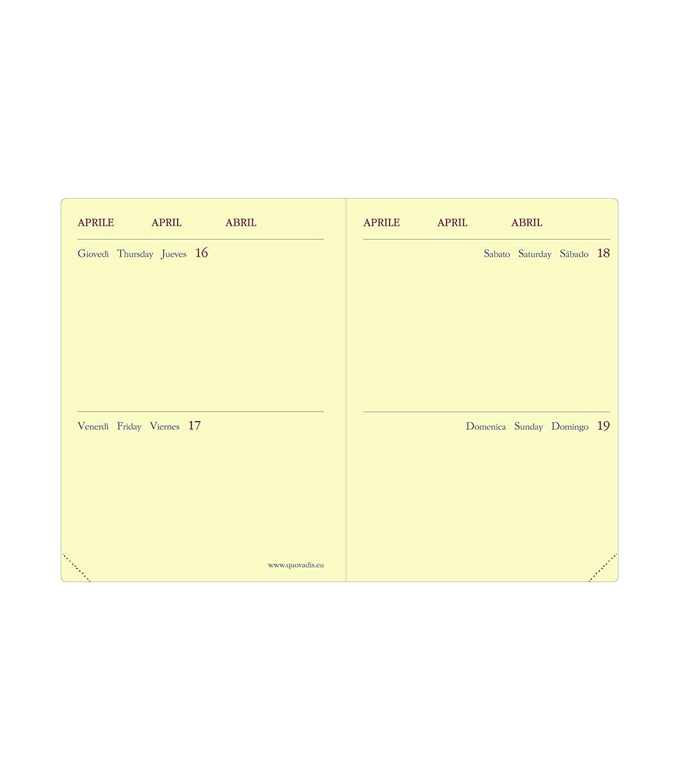 Color Azul Quo Vadis 370318Q Agenda 2020 Mini 2 Days Multiling/üe Soho