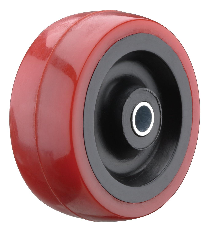 Steelex D2650 2 Inch 165 Lbs Polyurethane Wheel with Roller Bearing Hub