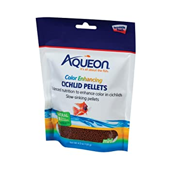 Amazon.com: aqueon 06187 Cichlid Color Enhancing Pellets, 4 ...
