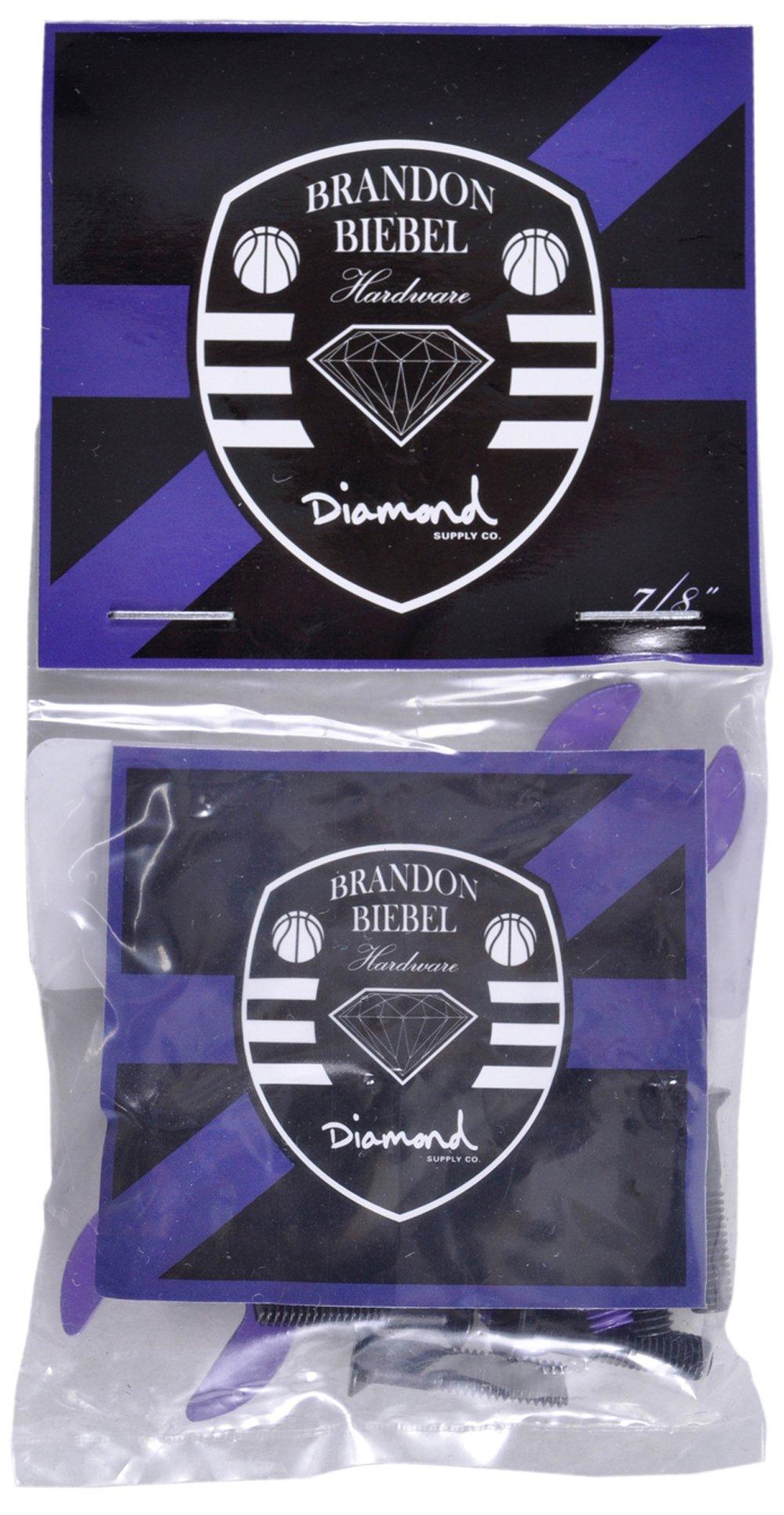 Diamond Supply Co Hella Tight Purple Skate Brandon Biebel HardWare