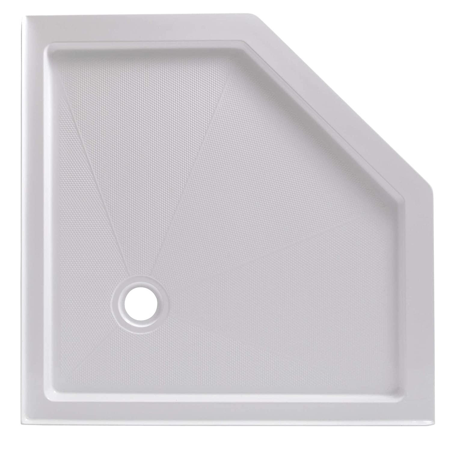 Neo Angle Shower Base.Foremost 4242na W 42 X 42 Neo Angle Shower Base With