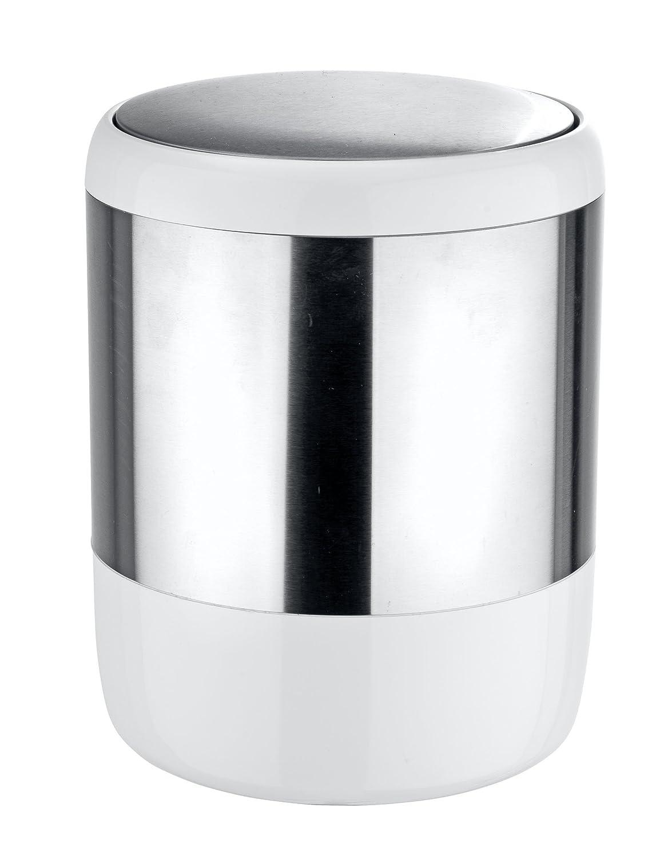Wenko Loft Dosificador Jab/ón Acero Inoxidable Plata 7.6x7.6x18.5 cm