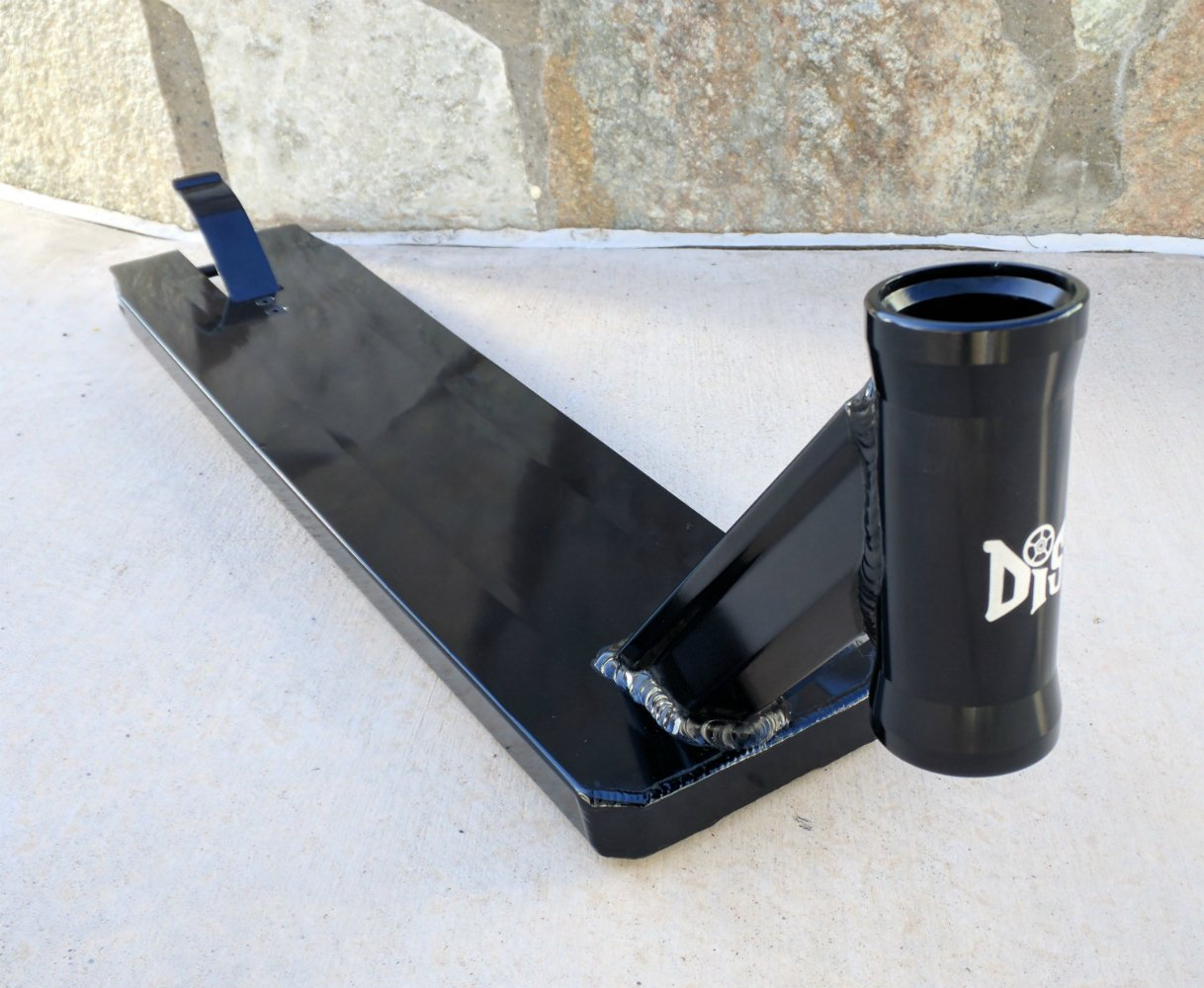 DIS Street Scooter Deck - Black 5.0 inches wide - 21.0 inches long