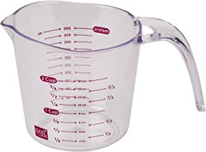 Good Cook 2-Cup, Clear Measuring Cup with Measurements
