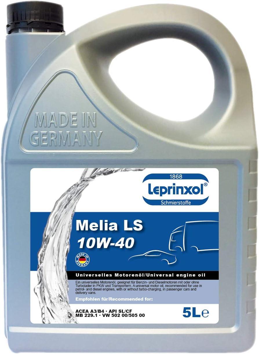Aceite de motor LML 10W40 para Volkswagen, Audi, Seat y Skoda, 5 litros: Amazon.es: Coche y moto