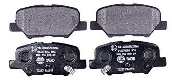 Bremsbelagsatz Scheibenbremse DELPHI LP2501