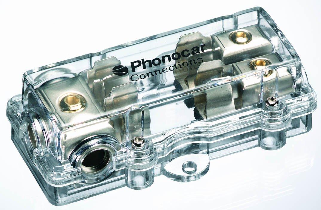 Phonocar 4/487 - Supporto per fusibile a 2 vie 04487