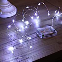 Quace Copper String Led Light 10M 100 LED USB Operated Wire Decorative Fairy Lights Diwali Christmas Festival - Multi Color