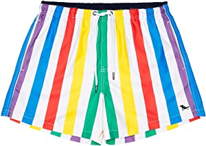 Dock & Bay Quick Dry Mens Swim Trunks - Board Shorts & Swimming Trunks for Men, Beach Shorts for Swimming, Pool, Travel - Made from 100% Recycled Water Bottles - Swim Shorts