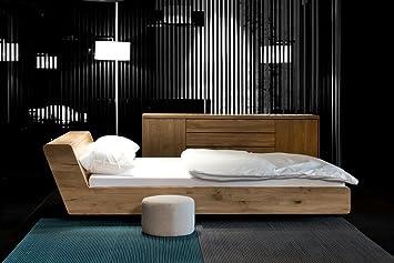 Mazzivo Lugo Hochwertiges Holz Bett Schlicht Zeitlos