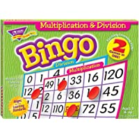 Trend Bingo Game, Multiplication and Division (T6141)