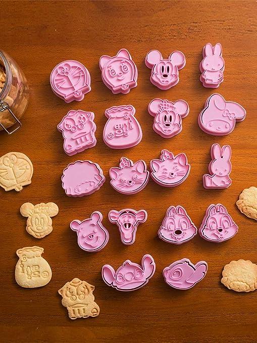 Moldes Para Galletas,Tridimensional Prensado Set De Moldes Para Galletas (18 Sets) Para