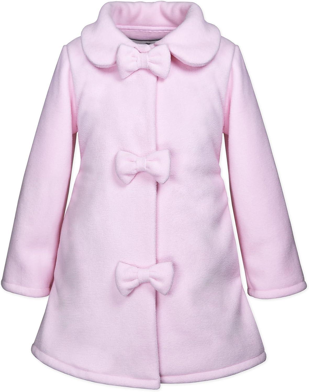 Widgeon Girls Pretty 3-Bow Fleece Coat 3750