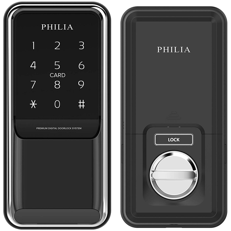 Philia Pds 100z Smart Keyless Door Lock With Z Wave