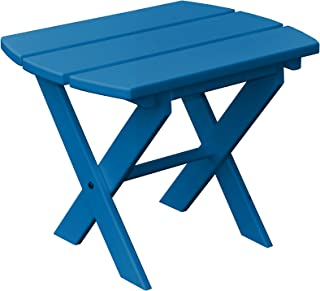 product image for Poly Folding End Table - Blue
