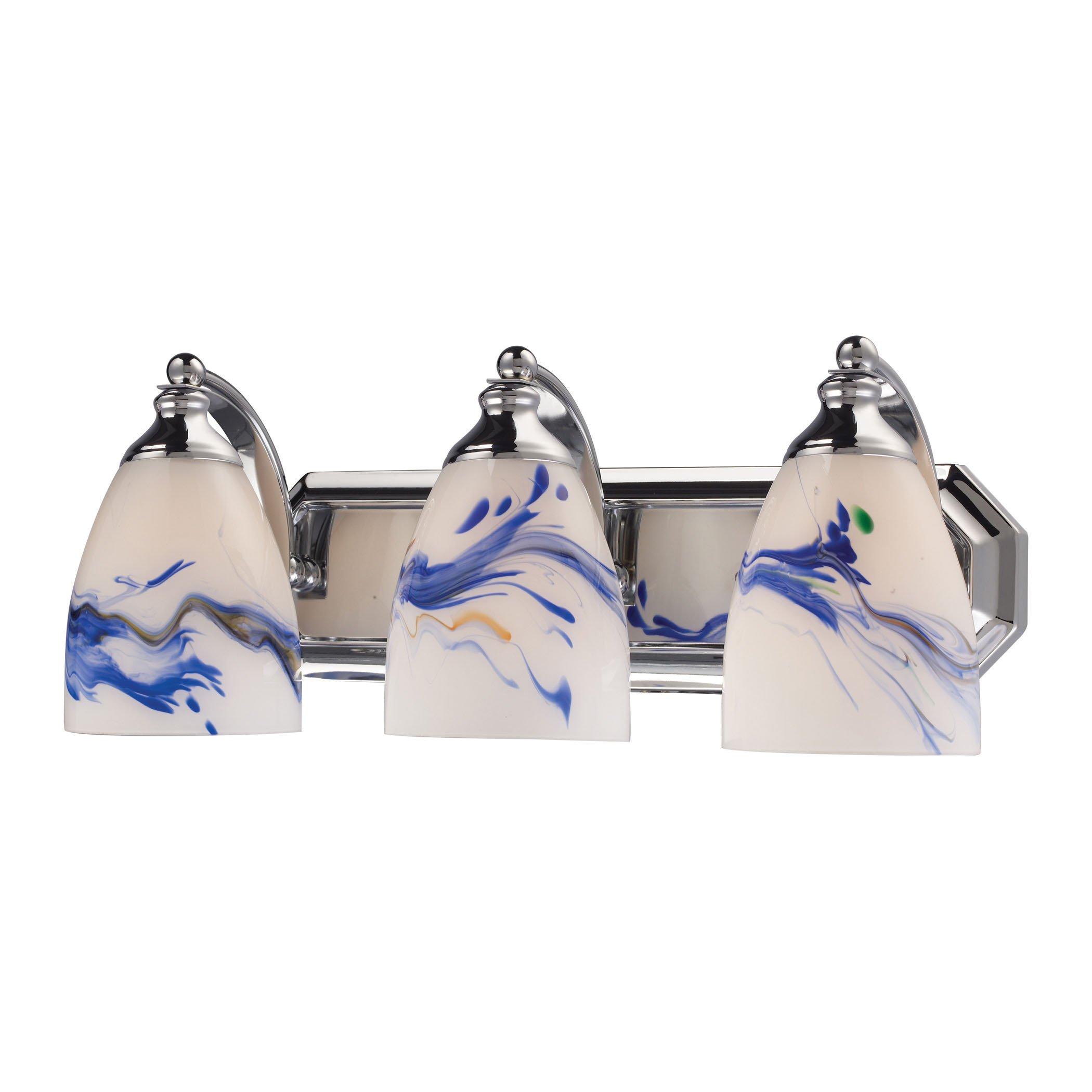 Elk Lighting Bath and Spa 3 Light Vanity Light in Polished Chrome by Elk Lighting (Image #1)