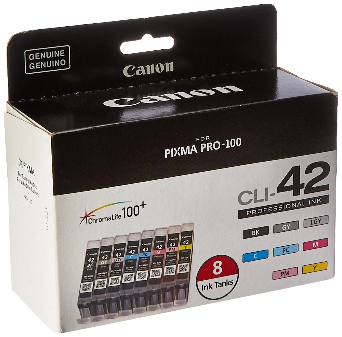 Canon Cli 42 8 Pk Value Pack Ink Office Products Tinta 680 Colour