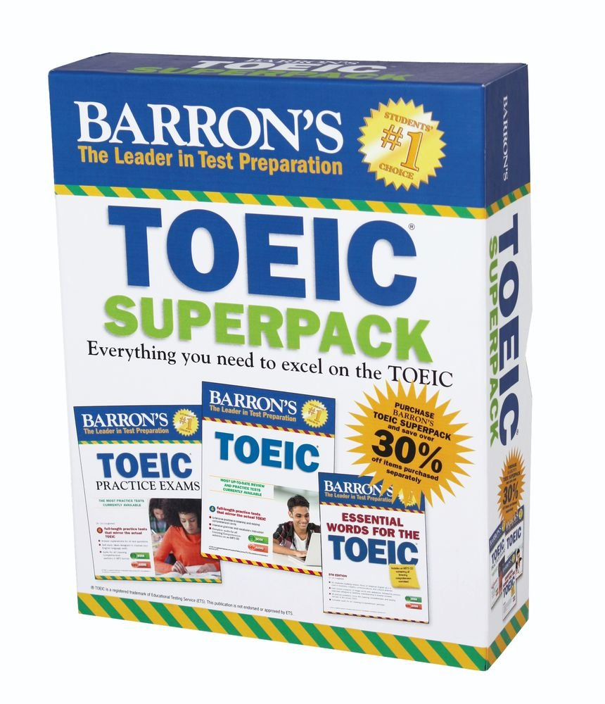 Barron's TOEIC Superpack, 2nd Edition by Barron s Educational Series